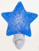 Blue Star Pizzazz Night Light